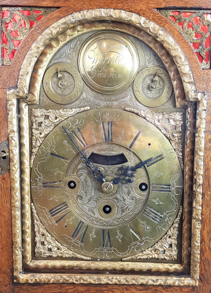 Zegar barokowy, Wernle, XVIII w.