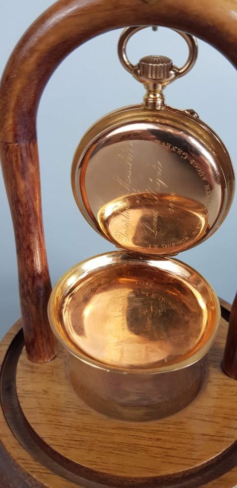 Złoty zegarek kieszonkowy 1898