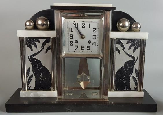 Zegar Art Deco