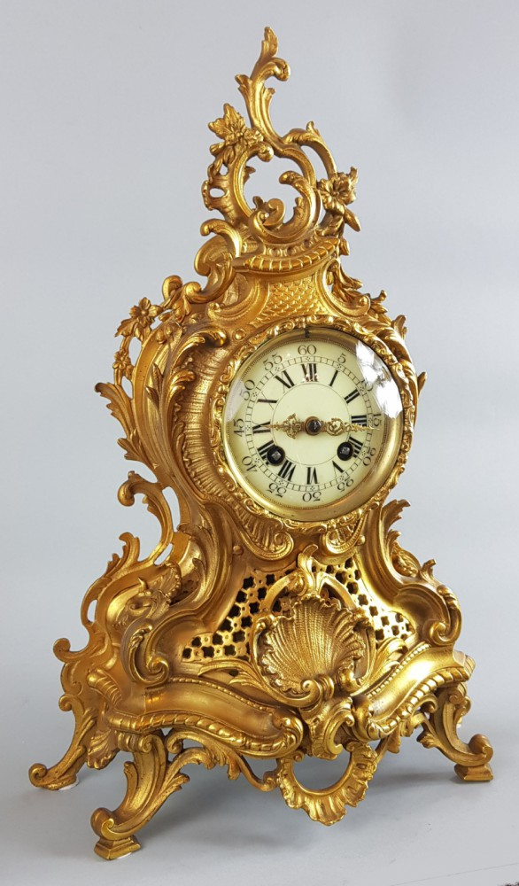 Zegar neorokokowy XIX w.