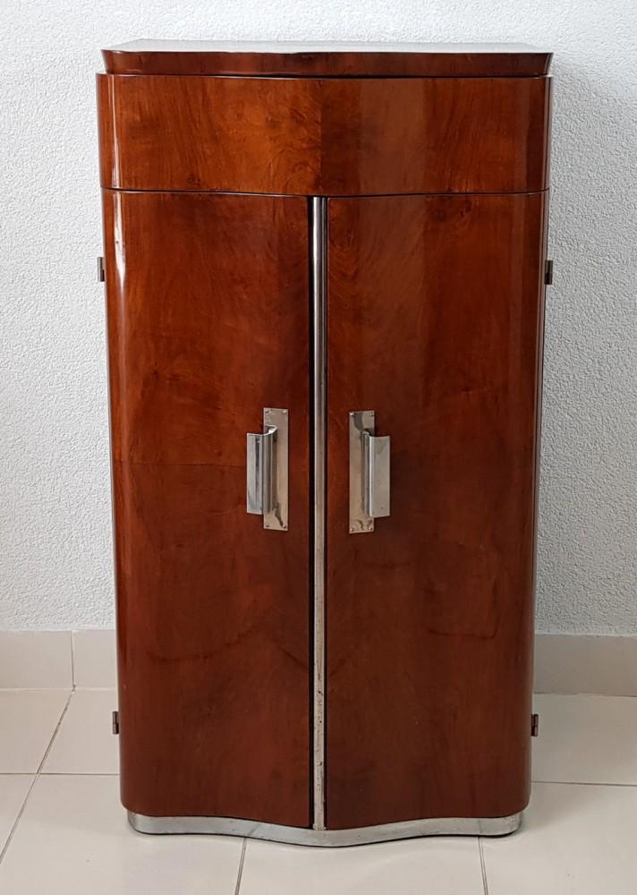 Szafka-barek Art Deco Francja