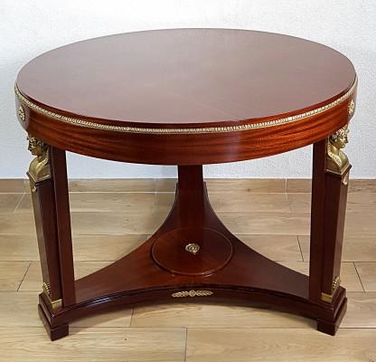Stół neoempirowy Francja XIX w.