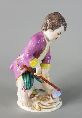 Figurka MIśnia - Mały ogrodnik