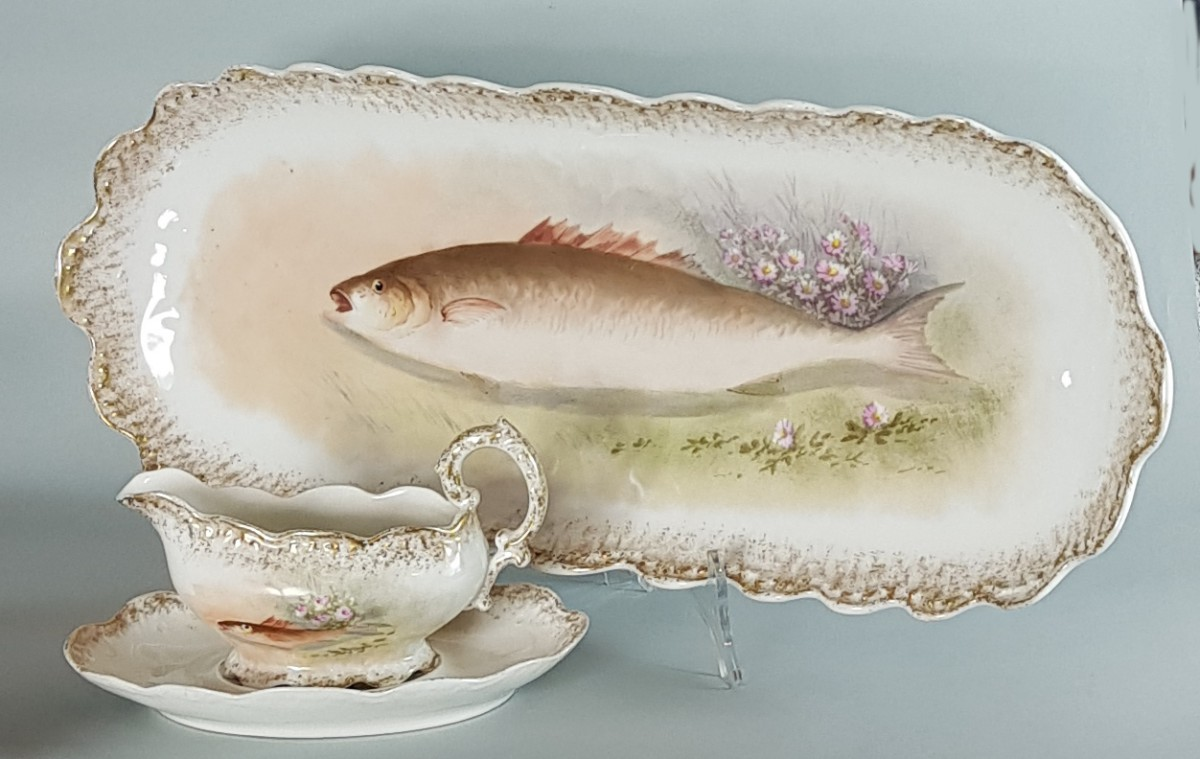 Serwis do ryb Limoges