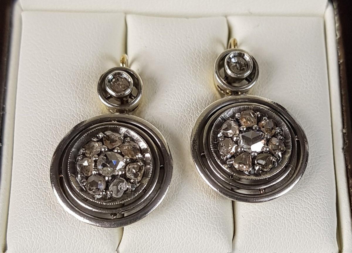 Kolczyki z diamentami 1.30ct