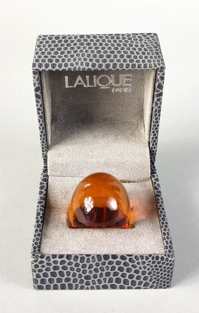 Pierścionek Lalique
