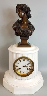 Zegar kominkowy Francja XIX/XX w.