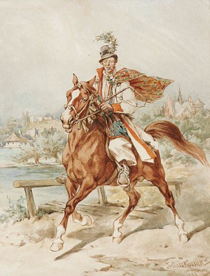 Krakowiak na koniu