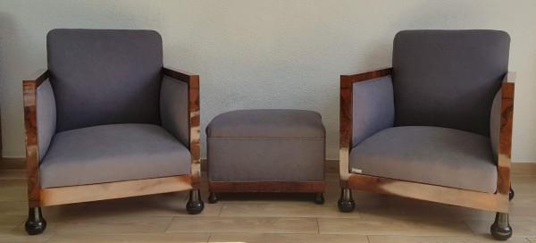 Fotele Art Deco