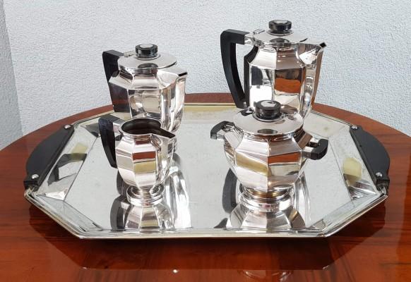 Serwis śniadaniowy Art Deco - Christophle
