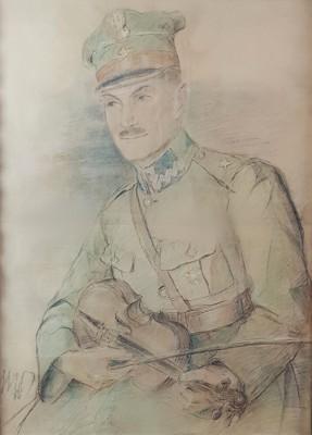 Portert Karola Zolicha w mundurze